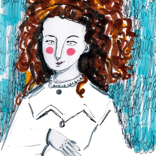 Lydia Koidula's portrait